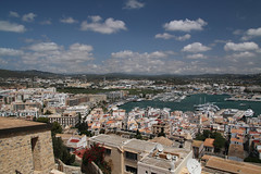 View of Eivissa from Dalt Vila (SimonFewkes) Tags: ibiza eivissa balearicislands islasbaleares santaeularia santaeulalia daltvila holiday travel balearics