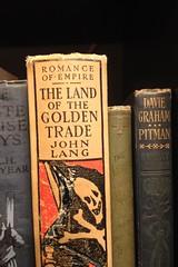 Land of the Golden Trade (peet-astn) Tags: book books old hardback art landofthegoldentrade johnlang