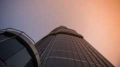 Burj Khalifa (Robie..) Tags: dubaiincredible burj khalifa sunset fog tallestbuilding
