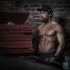 Tobias George NFM (TerryGeorge.) Tags: natural fitness models abs sixpack muscle toned athletic fit