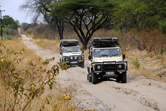 Botswana trail (stefano barz) Tags: strada botswana jeep pista sabbia sand savana