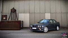 BMW M3 E30 (M-Gruppe.net) Tags: bmw m3 e30 black schwarz front automotive photoshooting photography mgruppenet canon 7d 1022 mm