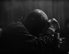 Michiaki Ikeda, 71 years later (Shuji Moriwaki) Tags: nagasaki japan atomic bomb survivor pentax 67 fuji acros 100 caffenol 400 push michiaki ikeda glass dead dying friendship carry live struggle