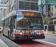DSC06428 (jayayess1190) Tags: bus chicago illinois masstransit publictransportation city urban vehicle commuter cta novabuslfs cumminsisc