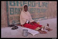 Bread of life vs Bread for life (Dan Wiklund) Tags: varanasi uttarpradesh woman portrait poor female street city urban 2014 d800