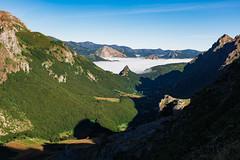 Valle de Lago (happy.apple) Tags: camnrealdelamesa principadodeasturias spain es valledelago somiedo valley fog mountains summer
