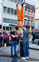 Img -2087-4 (Conor Daniel Kinahan) Tags: street performer outdoors belfast county antrim victoria square activity acrobatics gymnastics feat of strength hand stand confidence positive public display