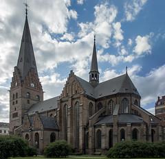 Sankt Petri Kyrka (acase1968) Tags: 3photo photomerge malmo church sweden sankt petri st saint peter nikon d500 gothic nikkor 24120mm f4g