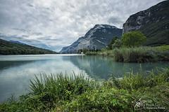Lake Toblino. (Separate Sky) Tags: italy trentino trentinoaltoadige lake toblino lago landscape nature waterscape weather