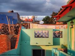 Rooftop #2, Trinidad, Cuba (augenbrauns) Tags: mirrorlesscamera olympusomdem1 trinidadcuba cuba rooftop