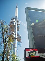 Prague TV Tower (t-ninja) Tags: prague tvtower t忍者 tninja tnja tnj teeninja tee tninjah tfat slap slaptagging slaptag slckr slickr ninja ninjah ninjamask nja daylight shot character child climbing