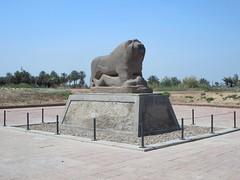 Lion of Babylon (D-Stanley) Tags: statue babylon iraq lion