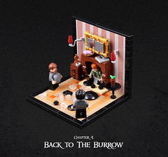 Harry Potter and the Goblet of Fire 34 (Xenomurphy) Tags: lego moc bricks harrypotter gobletoffire rowling muggle magic weasley hermione malfoy voldemort hogwarts hogsmeade slytherin hufflepuff gryffindor ravenclaw quidditch