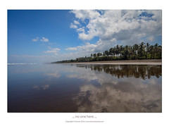 ... no One here ... (liewwk - www.liewwkphoto.com) Tags: bali beach reflection blue sky liewwk liewwknature liewwkphotohunters indonesia landscape coconut pantai outing cpl gnd lee filters haida