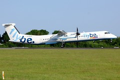 G-ECOG (AnDrEwMHoLdEn) Tags: flybe dash8 egcc airport manchester manchesterairport 05r