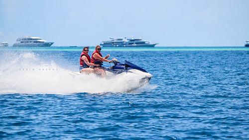 scubamaldives maldives scuba spa watersports jet ski activity beach sea people watercraft oshingraphy