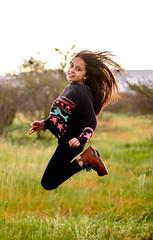 IMG_4397R (CortsAguilera) Tags: illapel chille ivregion regin de coquimbo jump sun hair model happy modelo
