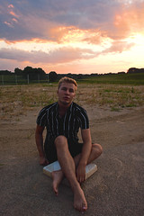Summer Sins (Anton Redding) Tags: sun sunset summer sins anton redding photo photography photographer canon 5d mark markii blonde self portrait selfie baseball boy outdoor side landscape