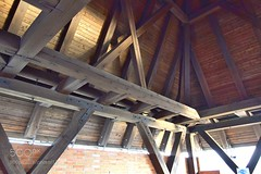 Roofing 0914 (DRoofing163) Tags: light old architecture abstract indoor construction wooden beams roofing structure ceiling engineering