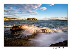 Evening sea (jongsoolee5610) Tags: seascape laperous sea sydney australia bareisland