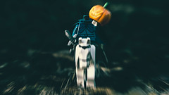 The Horseman Rides (3rd-Rate Photography) Tags: thelegendofsleepyhollow sleepyhollow lego headlesshorseman washingtonirving minifig minifigure canon 100mm 5dmarkiii toyphotography toy figure jacksonville florida 3rdratephotography earlware