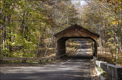 Sleeping Bear Dunes National Lakeshore - Pierce Stocking Covered Bridge - Michigan (helikesto-rec) Tags: bridge michigan coveredbridge sleepingbeardunes nationallakeshore piercestockingdrive