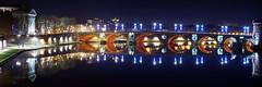 Pont Neuf by night (David B. - just passed the 7 million views. Thanks) Tags: christmas street xmas bridge france night river canal nightshot noel pont toulouse noël riverbank rue garonne marche tls pontneuf a77 hautegaronne midipyrénées 1650 poselongue longpose a77v sonyalpha77 sony165028ssm sonydslta77v