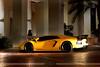 Black and yellow (_SAMSAL_) Tags: italy black car night europe parking uae rims abu dhabi lamborghini rare supercar yello spoiler valet lambo hypercar aventador lp700