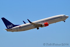 """""""Knut Viking"""" SAS Scandinavian Airline System LN-RRE Boeing 737-883 Winglets msn/35706-2586 @ Nice Cote d'Azur Airport LFMN / NCE 26-05-2014 (Nabil Molinari Photography) Tags: nice cote dazur lfmn nce lnrreboeing737883357062586cfm567b26sasscandinavianairlinesystem2008bdfptransferred1094784e9viewlnrrewinglets dd42408knutvikingsasnorgeviewff41308theboeingcompanycurrent"""