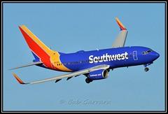 N913WN Southwest Airlines (Bob Garrard) Tags: southwest boeing airlines dca 737 kdca n913wn