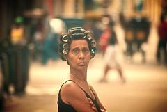 Centro Habana (Lou Morgan) Tags: morning woman latinamerica female america hair havana cuba centro latin rollers habana curlers louisemorgan louisemorganportfolio