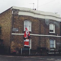 Deflated Father  Christmas (msganching) Tags: london stjohns fatherchristmas deflated londonist