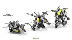 Talos Variable Fighter Ver. Kai. (clmntin.E) Tags: digital plane robot singapore fighter lego designer military hard mini future futuristic mecha transform mech macross variable builds povray minifigure the moc 2014 afol ldd 2015 exo miniland hardsuits proejcts transformable gerwalk minifigurine exosuits proejcted