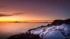 Early Morning @ Homborsund Lighthouse (Karl P. Laulo) Tags: lighthouse sunrise fyr homborsund soloppgang
