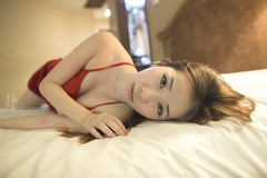 (Alphone Tea) Tags: travel light portrait woman sexy love girl beautiful smile night wonderful pose print hotel amazing nice bed model eyes lowlight asia soft pretty colours slim bokeh body room great chinese young longhair like indoor fresh malaysia attractive jb 24mm lovely facebook 6d 2014 naturelight 2414 ef24mmf14liiusm atphotography