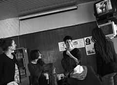Dance @ Caf Italo-Belge  1990 (Lieven SOETE) Tags: life street city brussels people urban woman art festival female donna calle dance movement mujer strada arte belgium belgique artistic danza kunst femme mulher performance young diversity bruxelles ciudad danse movimiento menschen personas persone human tanz stadt bewegung metropolis frau rue dana personnes carrer ville jvenes junge mouvement citta joven straat jeune 2014   weiblich  intercultural    fminine artistik  femminile strase hareket kadn diversit  espacepublic interculturel