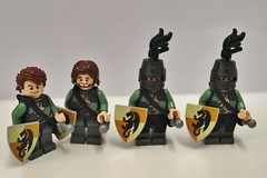 Brickvention 2015 Teasers Day 2 (Ben Cossy) Tags: castle looking lego you fig melbourne here barf fantasy shield why minifigs teaser 2015 minifigures brickvention skyrim