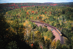On Top of Old Cramer (view2share) Tags: railroad autumn trees fall minnesota train track 2000 fallcolor cab transport tracks rail railway rr trains september transportation rails erie ore mn freight taconite railroaders cramer railroads overview f9 freighttrain september2000 railroading emd freightcars ltv freightcar rring trackage electromotivedivision eriemining oretrain cabunits ltvmining orepellets september212000