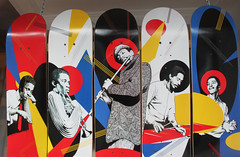 All Decked Out (skipmoore) Tags: jazz skateboard decks haightst