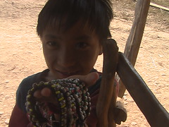 Akha Child Selling Bracelets