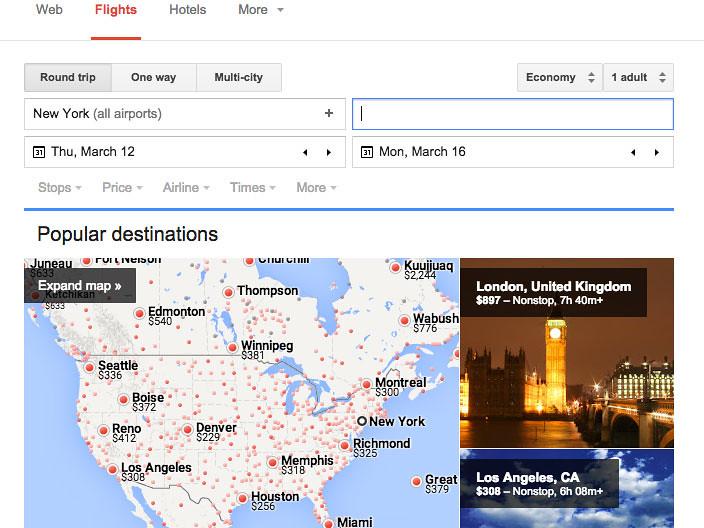 google flight1