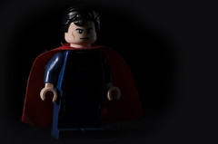 Superman Low Key (Danie Steyn) Tags: lego superman stobist d7000 nikond7000