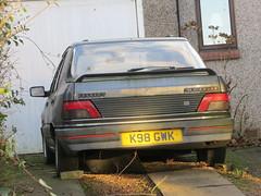 1993 Peugeot 309 GTi (GoldScotland71) Tags: k98gwk