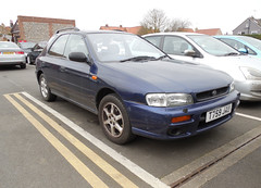 1999 Subaru Impreza 2.0 GL AWD (Spottedlaurel) Tags: subaru impreza subaruimpreza