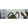 Suspended (JamCanSing) Tags: longexposure bridge cloud forest singapore kodak conservatory pinhole walkway dome suspended portra glasshouse 6x17 portra400 reciprocity realitysosubtle