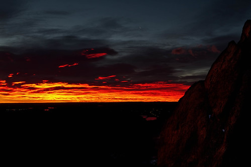 Daybreak, Red Rocks