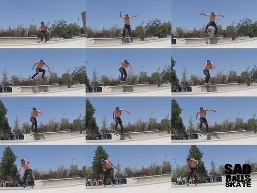 Flip Backside Tailslide