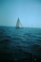 Sailing (9) (foundslides) Tags: johnrudd kodachrome foundslides vintage oldphoto oldphotos retro oldpictures old pix pics photography redborder slides irmalouiserudd analog slidecollection irmarudd