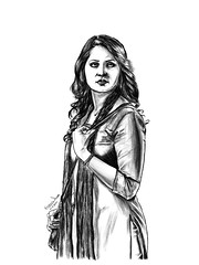 anushka6AAAAAAAAAAAAAAAAAAAAAAAAAAA (Artist_Essam) Tags: woman eye girl beautiful beauty face by pencil hair mouse nose hand arm body drawing clothes step figure actress bollywood hd tutorial anushka