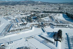 Goryokaku (ngc4226) Tags: winter japan nikon hokkaido   hakodate   goryokaku    ngc4226
